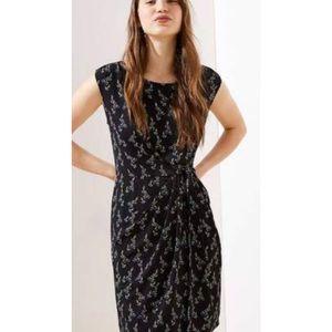 LOFT Petite Wrap Floral Dress